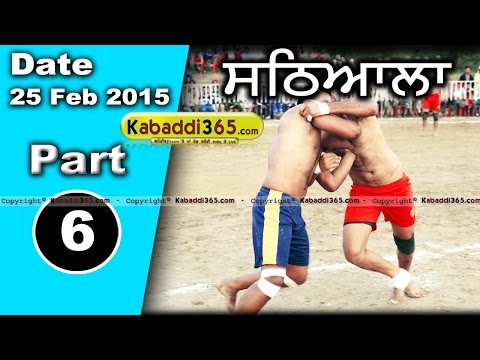 Sathiala (Amirtsar)  Kabaddi Tournament 25 Feb 2015 Part 6 by Kabaddi365.com