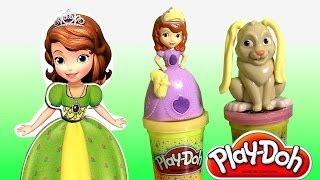 Play Doh Sofia The First Clover The Rabbit Set Disney
