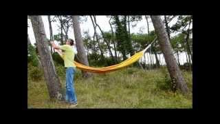 Hamaca casera homemade hammock videos de hamaca - Mosquitera casera ...