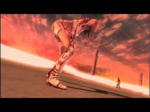 No More Heroes EU PS3 Jeane Rank 1 Boss Fight & Cutscenes Uncensored