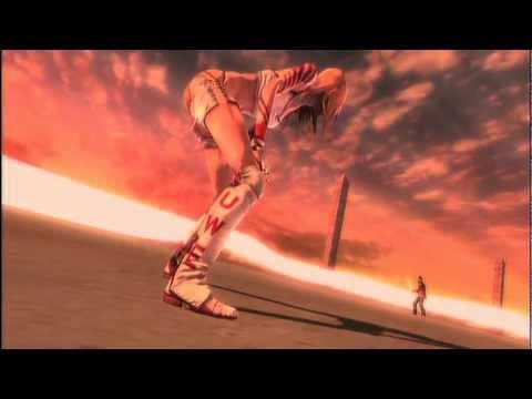 No More Heroes EU PS3 Jeane Rank 1 Boss Fight & Cutscenes Uncensored