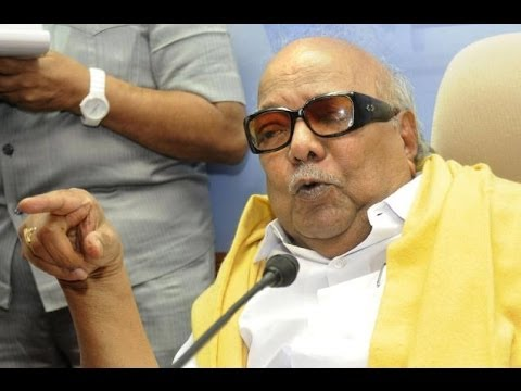 The Flip: DMK chief M Karunanidhi hints at supporting Congress
