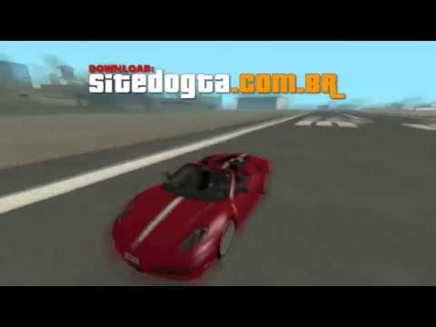 MOD Ferrari F430 Scuderia Spider 16M GTA San Andreas