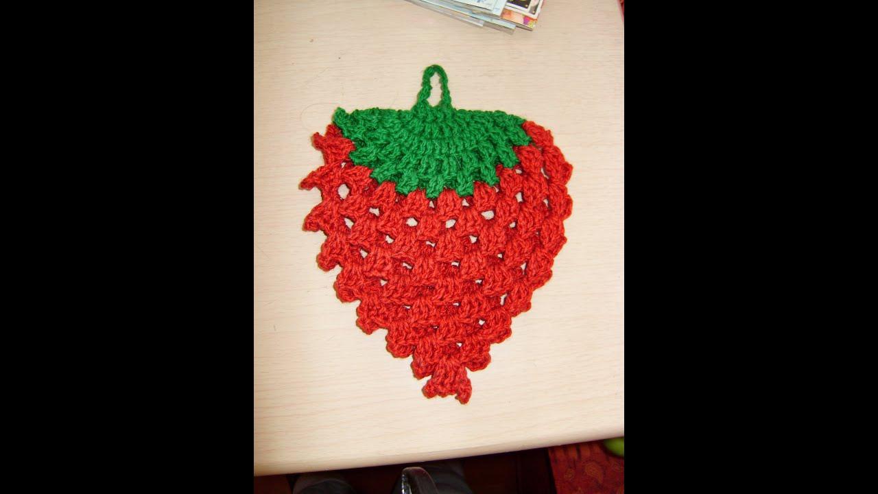 Agarradera En Crochet Como Hacer De Cocina