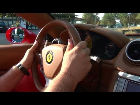 Ferrari California fast drive in Maranello / HD