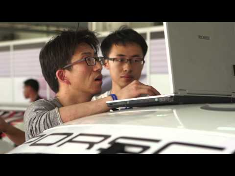 Underneath the Cars of the Porsche Carrera Cup Asia