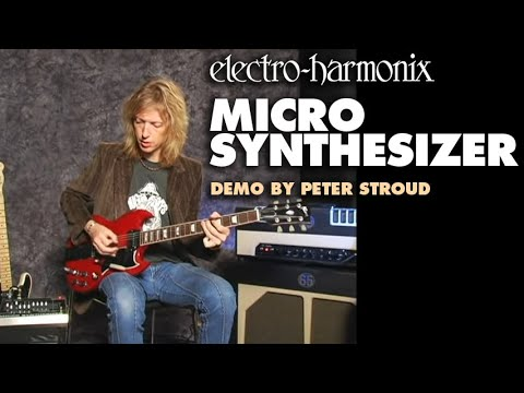 Electro Harmonix Micro Synth Guitar Synthesizer Pedal