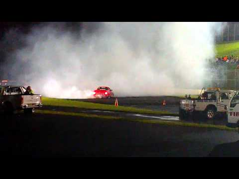 Powercruise 2012 Eastern Creek - (FA57UT) VY V6 Commodore Ute Burnout