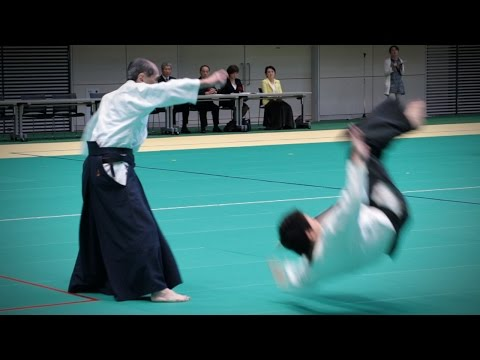 Hiroshi Tada (多田宏) - Aikido Demonstration - 12th IAF Congress (2016)