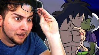WHO'S FAN FICTION IS THIS?!   Kaggy Reacts to BROLY VS KEFLA, Dragon Ball Super
