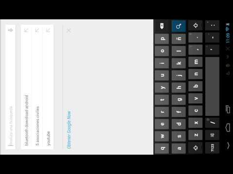 Como instalar bluetooh en una tablet