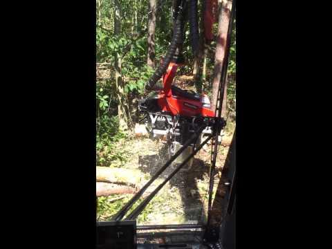 Komatsu 931.1 Wheeled Harvester w/Komatsu 365 Dangle Head