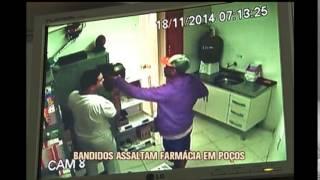 PM registra seis assaltos em menos de 12 horas em Po�os de Caldas