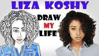 Draw My Life :  Liza Koshy (complete)