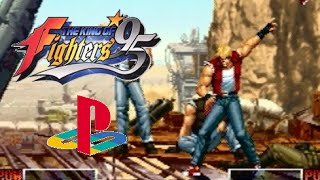 The King Of Fighters '95 Playthrough (Playstation)