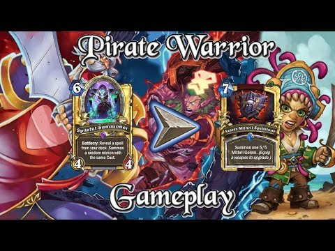 [Top 9 Legend] Gameplay: Helge's Pirate Warrior Kobolds And Catacombs (Hearthstone Guide)