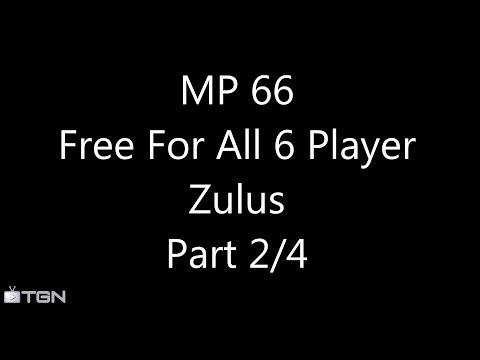 MP 066 Part 2/4:Zulus (Civilization V Brave New World 6 Player Free For All) Gameplay/Commentary