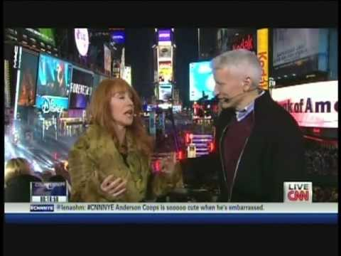 New Year's Eve Live 2012 Anderson Cooper Kathy Griffin Times Square New York (5/12)