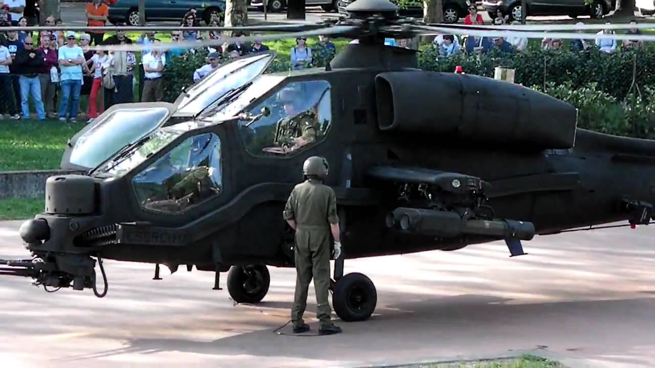 Elicottero Mangusta : Partenza agusta westland aw mangusta exponiamo