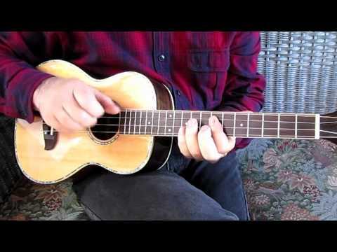 Clawhammer Baritone Ukulele - June Apple / Flop Eared Mule