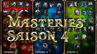 Masteries S4 Saison 4 Guide Carry AD & AP Support