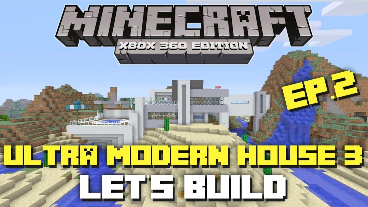 how to build a modern house in minecraft xbox 360