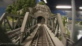 Führerstandsmitfahrt Spur H0 Anlage Dürnstein von Josef Brandl