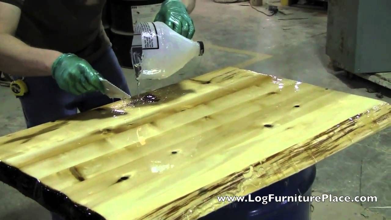 How Liquid Glass Finish Is Applied On Cabin Furniture At