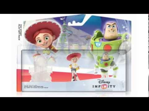 Disney Infinity Wave 2 Toys - YouTube
