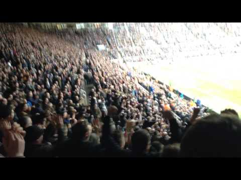 Fans Reaction Loic Remy Goal 93rd Minute V Aston Villa 23.02.2014 Newcastle United
