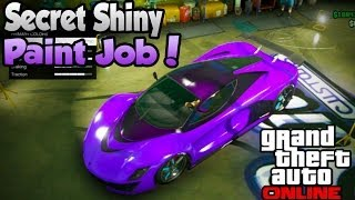 "GTA 5 Online Secret ""Shiny Paint Job"" Trick! (Better"