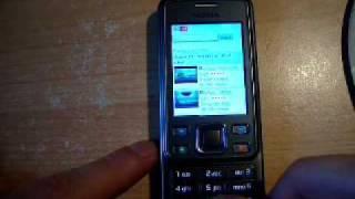 Nokia 6300i z OperaMini 5 view on youtube.com tube online.
