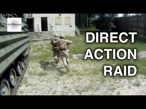 US Marines POV - Assault Amphibious Vehicle Egress & Building Raid