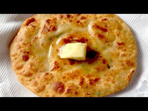 Indian Cuisine - Aloo Pyaz Paratha Recipe
