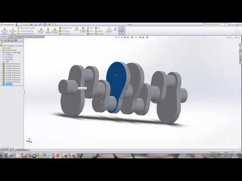 Yakın Kampüs   SolidWorks Krank Biyel Mekanizması   3   Egzantrik Mili