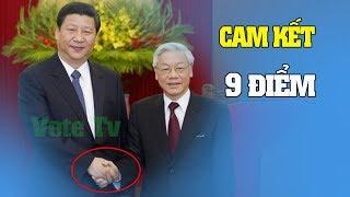 9 cam kết của Nguyễn Phú Trọng với Trung Quốc - Bật khóc với bài văn về nỗi đau nước nhược tiểu
