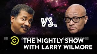 Neil deGrasse Tyson vs Larry Wilmore: Battle of the Nerds