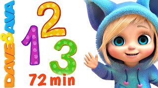 Numbers and Counting Songs Collection | Nursery Rhymes and Baby Songs from Dave and Ava