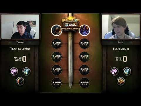 Trump vs Savjz   Redemption Tournament  Group A   Final   ESL Hearthstone Legendary Series