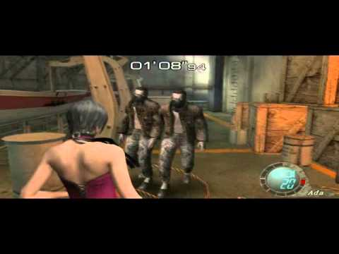 Resident Evil 4 Separate Ways Walkthrough - Chapter 4