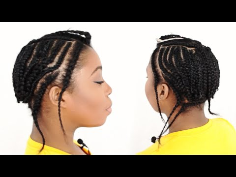 Sew In Braid Pattern With Leave Out Tutorial – (Part 2 of 7)