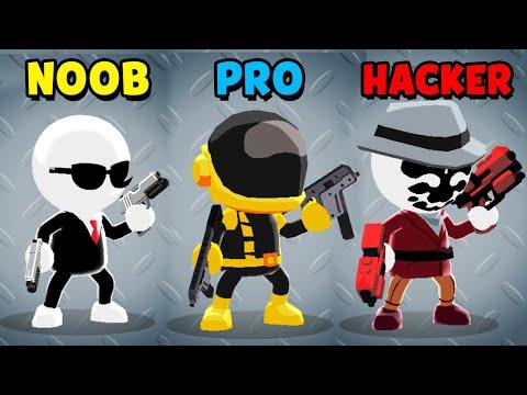 NOOB vs PRO vs HACKER - Johnny Trigger