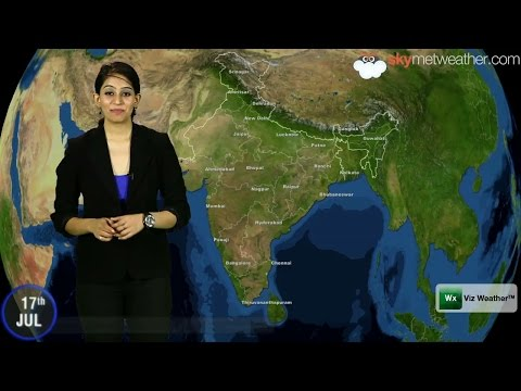 17/07/14 - Skymet Weather Report for India