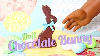 How To Make Doll Chocolate Bunnies