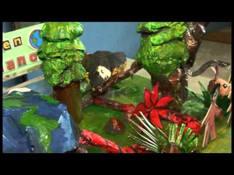 Estudiantes del Colegio Manuel Amador Guerrero Reciclan: Concurso de Maquetas