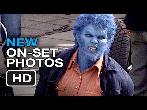 X-Men: Days of Future Past - On-Set Photos (2014) - Nicholas Hoult Movie HD