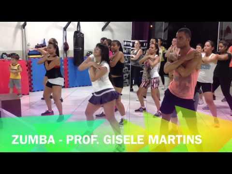 Zumba - Profª Gisele Martins - Lazy Groove, Claudia Leitte