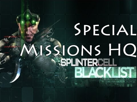 Splinter Cell Blacklist Walkthrough Part 7 - Special Missions HQ - Tehran, Iran