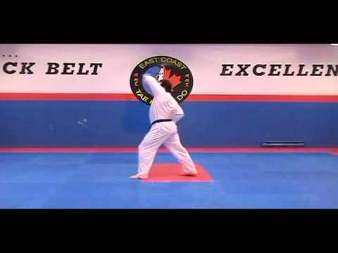 Taeguk 5 (green) - East Coast Tae Kwon Do | Master Martin MacDougall