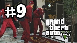 Grand Theft Auto 5 Part 9 Walkthrough Gameplay Jewellery